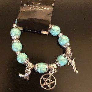 Turquoise Western Bracelet